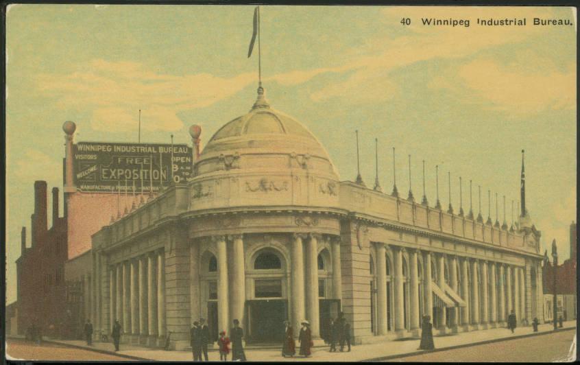 Winnipeg industrial bureau. the martin berman postcard collection