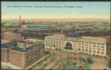 Union Station and Yards, Canadian National Railways, Winnipeg, Canada