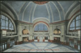 Rotunda, Union Station, Winnipeg, Canadian Northern Railway