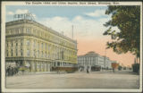 The Empire Hotel and Union Station, Main Street, Winnipeg, Man.