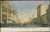 Main Street, Winnipeg, Looking North from Portage Avenue