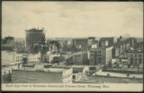 Bird's Eye View of Wholesale District and Princess Street, Winnipeg, Man.