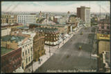 Winnipeg, Man.; View from Top of Merchants Bank.
