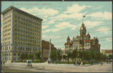 City Hall and Union Bank - Winnipeg.