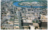 [An aerial view of down-town Winnipeg]