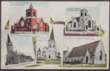 Methodist Church, Brandon, Man., Baptist Church, Brandon, Man., Catholic Church, Brandon, Man.,...