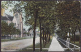 Eleventh Street, Showing Baptist Church, Brandon, Man.