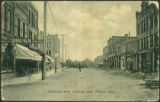 Crescent Ave. Looking East, Souris, Man.