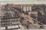 Part of Main Street, Looking North from Union Bank Building, Winnipeg, Manitoba.