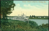"Steamer """"Alberta"""" on Red River, Winnipeg, Man."