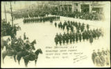 53rd Batallion C.E.F., Winnipeg's Great Parade, 10,000 Men Pass in Review. Nov. 12th. 1915.