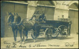 [Horse-Drawn Hose Wagon]