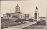 Provincial Parliament Buildings and Soldiers' Monument, Winnipeg, Manitoba