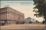 The Empire Hotel and Union Station, Main Street, Winnipeg, Man., Canada