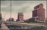Deloraine Manitoba, Wheat Elevators.