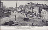 A Glimpse of Main Street, Winnipeg, in Early Boom Days, West Side Looking South from Old Court...