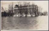 [Carman Memorial Hall, Flood 1923.]