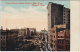 Portage Avenue, Looking West from Main Street, Winnipeg, Man.