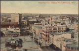 Birds Eye View, Looking North, Winnipeg, Man.