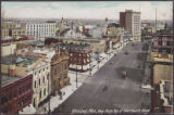 Winnipeg, Man., View from Top of Merchants Bank.