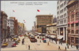 Portage Avenue, Looking West from Main Street, Winnipeg, Manitoba