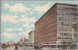 Portage Ave. Showing Eaton's Store - Winnipeg.