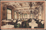 Main Dining Room. The Fort Garry. The Grand Trunk Pacific Hotel, Winnipeg, Man.